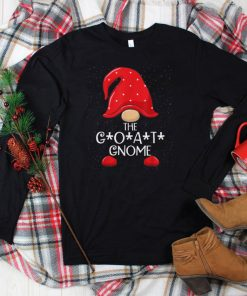 Official G.O.A.T. Gnome Matching Family Group Christmas Party Pajama T Shirt
