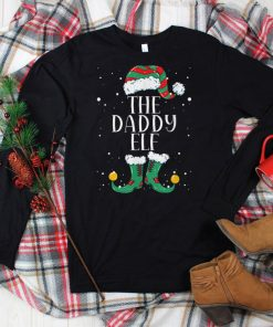 Official Mens Daddy Elf Matching Family Christmas Pajama T Shirt
