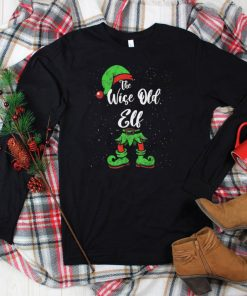 Official Wise Old Elf Matching Family Christmas Pajama Costume T Shirt