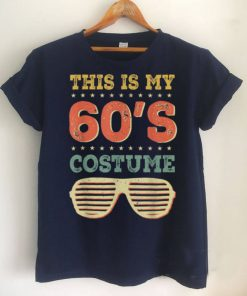 This Is My 60s Costume Funny Retro Vintage Sixties Halloween T Shirt